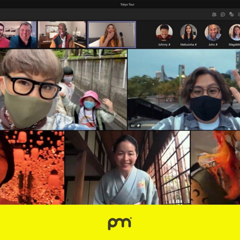 Microsoft Teams porta tutti a Tokyo - virtualmente
